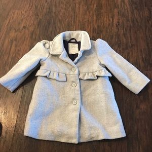 Gymboree Silver/Gray Dress Coat